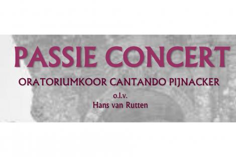 6 april Passieconcert Ontmoetingskerk