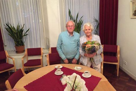Jan en Coby van den Bosch nemen afscheid van St. Caecilia