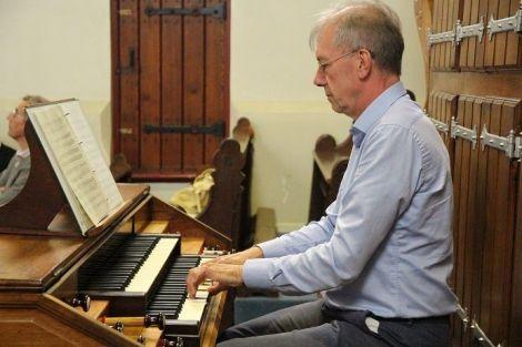 21 juli: Jubileum organist