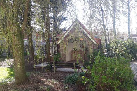 Kerk gesloten, Mariakapel altijd toegankelijk