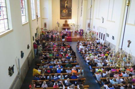 Foto's openingsviering basisschool De Klimophoeve