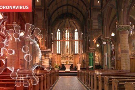 Kerk in corona tijd.......