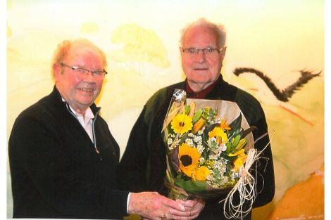 Jan Bult neemt afscheid van St. Caecilia