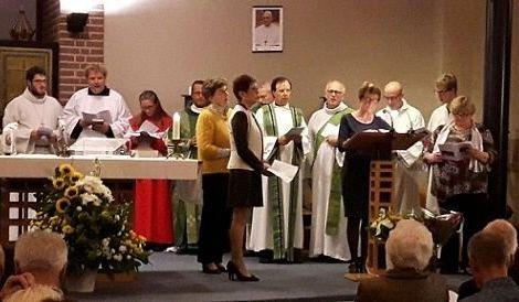 Feestelijke viering presentatie pastor Bladowski