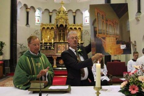 Jubileum organist gevierd