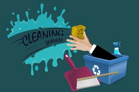 Kerk schoonmaken