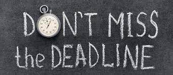 23 april: Deadline Morgenster kopij